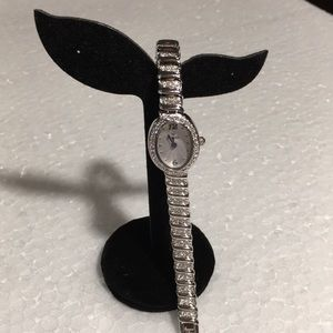 BULOVA STAINLESS STEEL WATCH NWOT NEVER WORN